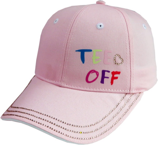 Girls Golf tee off Damen Golf Cap