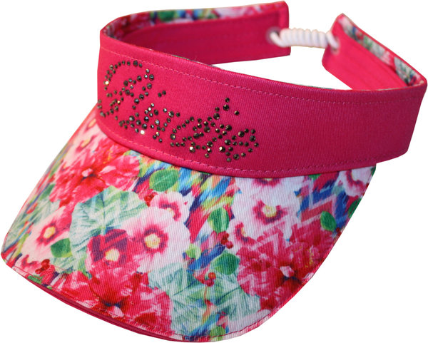 Girls Golf flower Damen Golf Visor